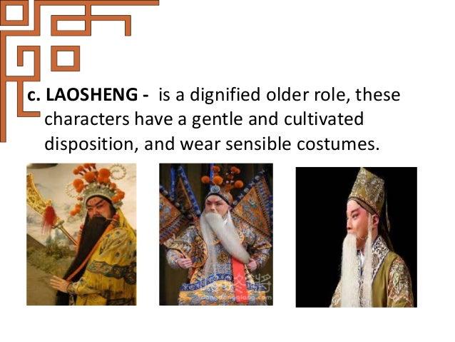 2. Dan - refers to any female role in Peking opera