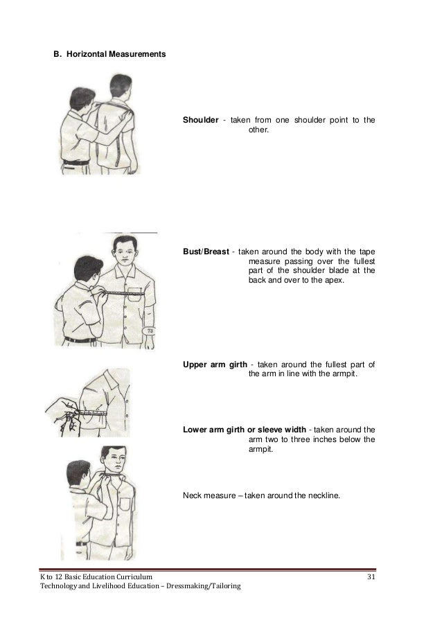 measurements of body
