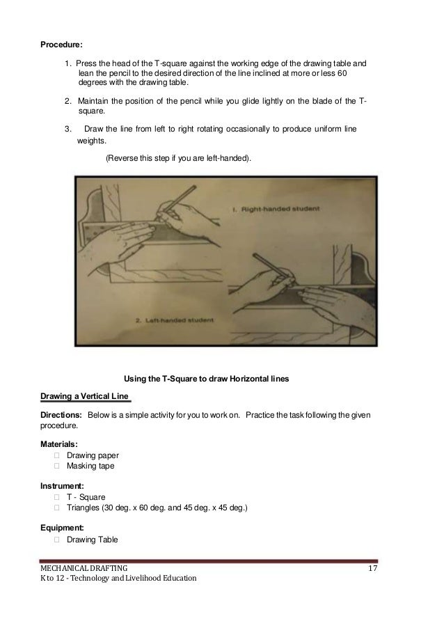 K to 12 mechanical drafting learning module livelihood education 18 malvernweather Gallery