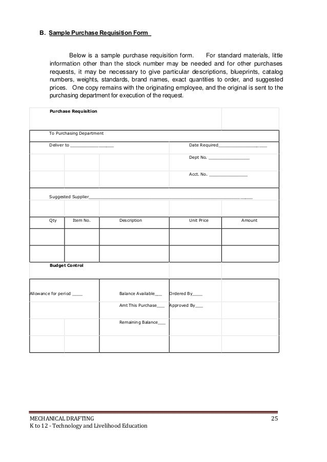 Doc694951 Purchase Requisition Letter Doc694951 Purchase – Purchase Requisition Letter