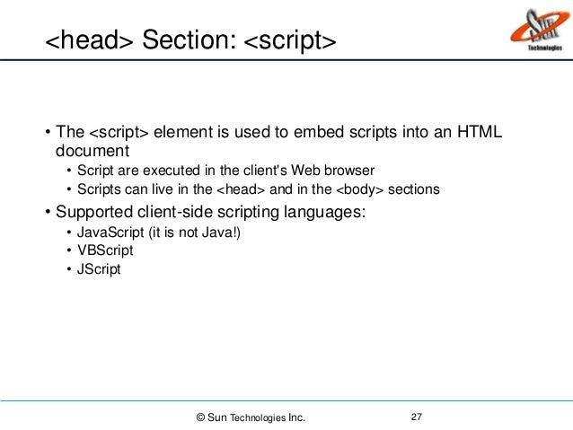 HTML, CSS and Java Scripts Basics