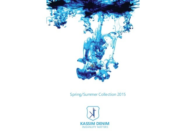 Spring/Summer Collection 2015 KASSIM DENIM INJEANUITY MATTERS