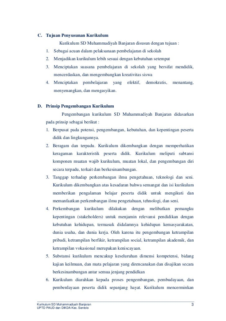 KTSP SD Muhammadiyah Banjaran Slide 3