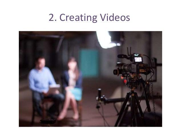 2. Creating Videos