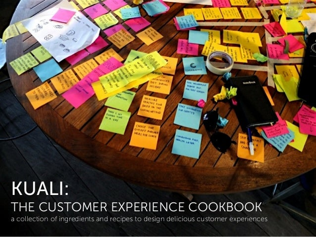 KUALI: THE CUSTOMER EXPERIENCE COOKBOOK a collection of ingredients and recipes to design delicious customer experiences