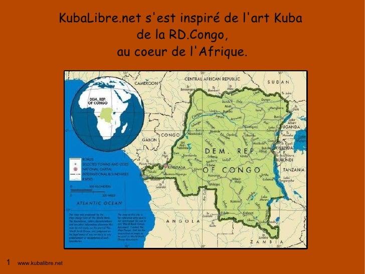KubaLibre.net s'est inspiré de l'art Kuba                                de la RD.Congo,                             au co...