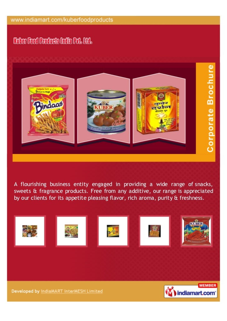 Kuber Food Products India Private Limited, New Delhi, Snacks