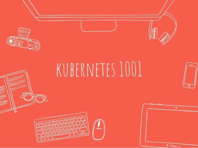 kubernetes 1001
