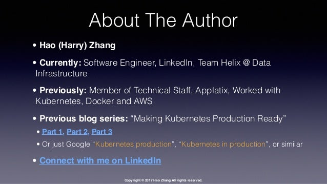Kubernetes Architecture - beyond a black box - Part 2 Slide 2