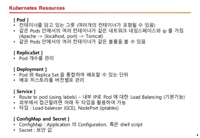 Kubernetes & helm 활용 Slide 2