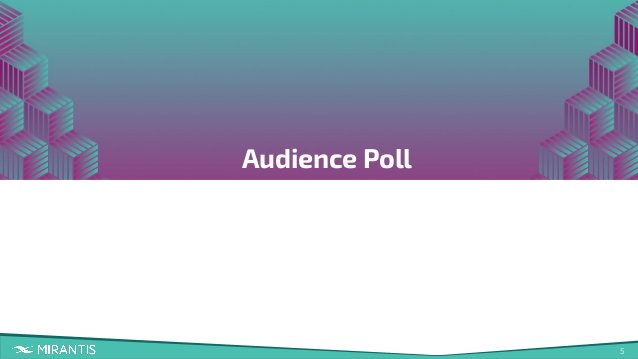 5 Audience Poll