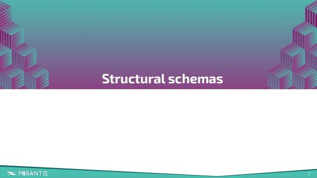 7 Structural schemas