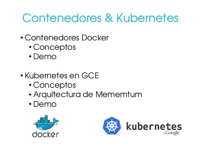 Kubernetes caso de uso real con mememtum y taniwa for Arquitectura kubernetes
