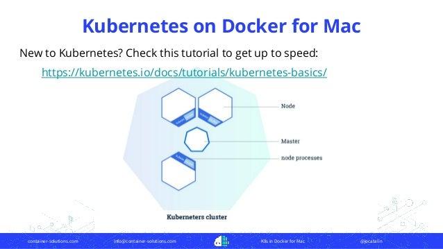 Kubernetes in docker for mac