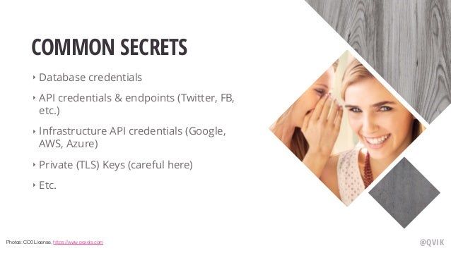 Secrets in Kubernetes Slide 3