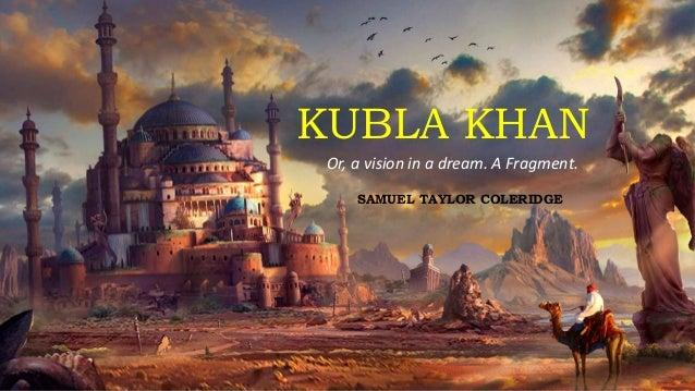 Image result for kubla khan