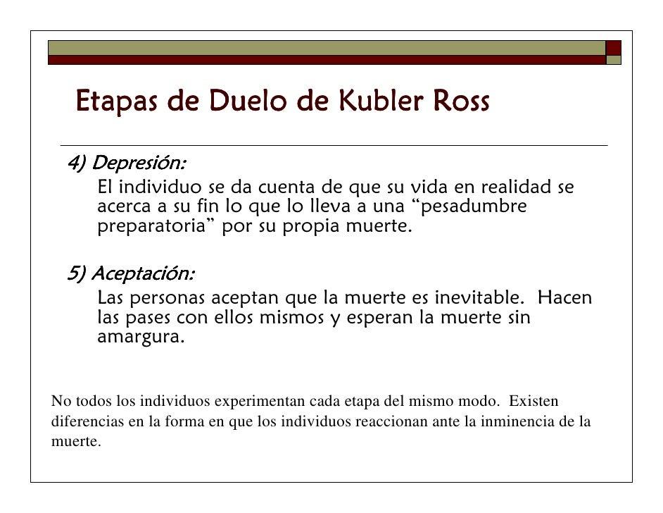 kubler ross outline