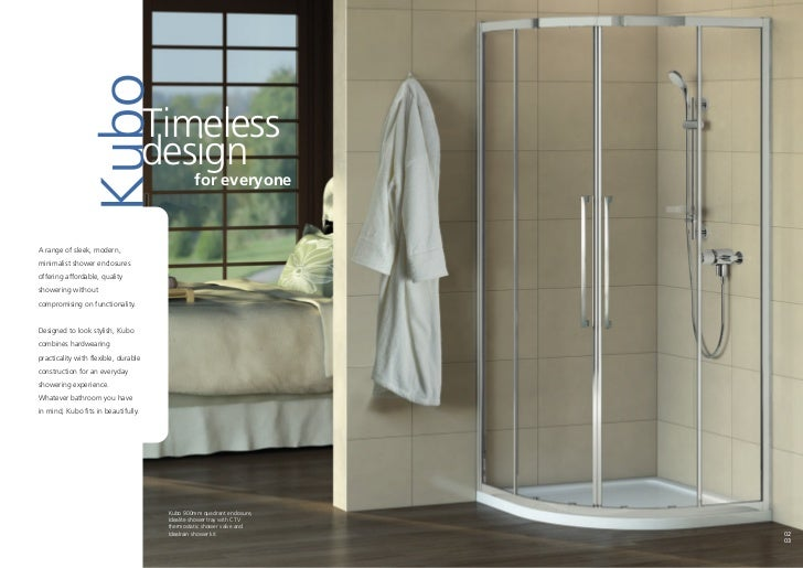 Bathroom Suites By Ideal Standard Kubo Brochure 2011