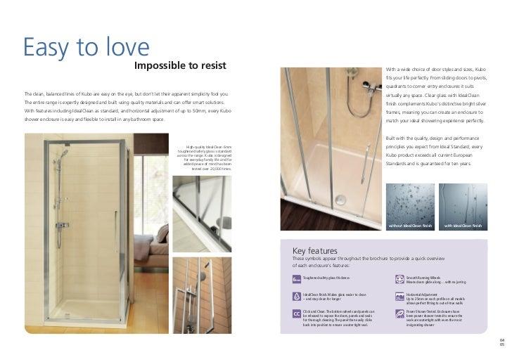 bathroom suites by ideal standard kubo brochure 2011. Black Bedroom Furniture Sets. Home Design Ideas