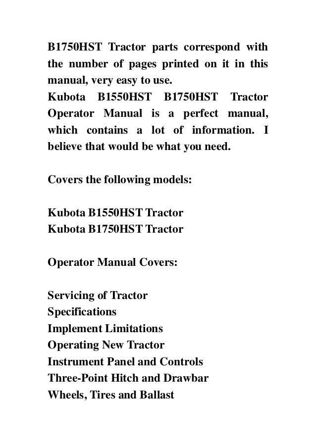 alpha-ene.co.jp I&T Shop Manual Collection Kubota B5100 B5100 L185 ...