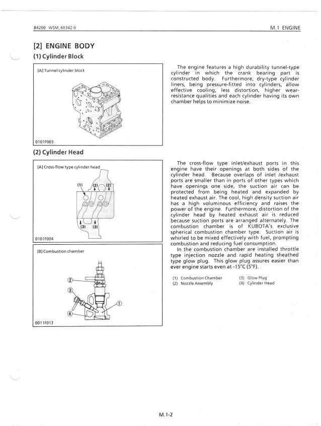 Kubota b4200 rc44 42 tractor service repair manual