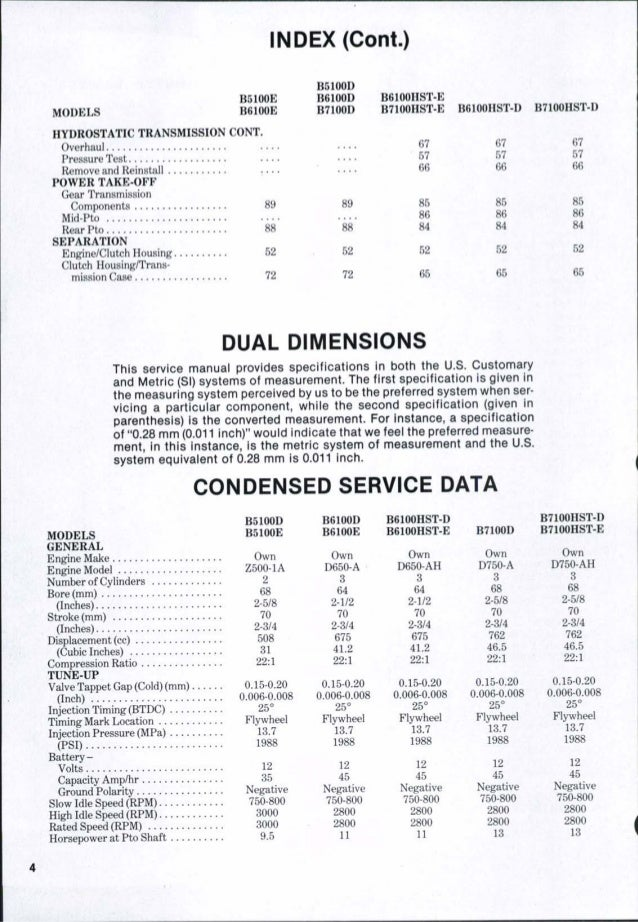 kubota b7100 d tractor service repair manual rh slideshare net Kubota B7100HST Manual PDF Kubota B7100 HST