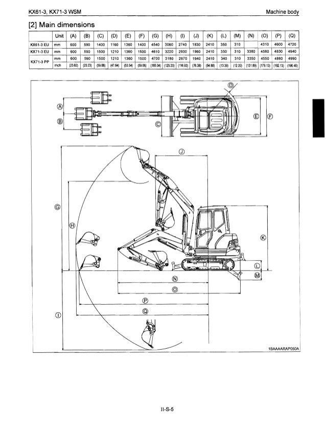 kubota kx61 3 excavator service repair manual rh slideshare net Kubota Owner's Manual L245 Kubota Service Manuals