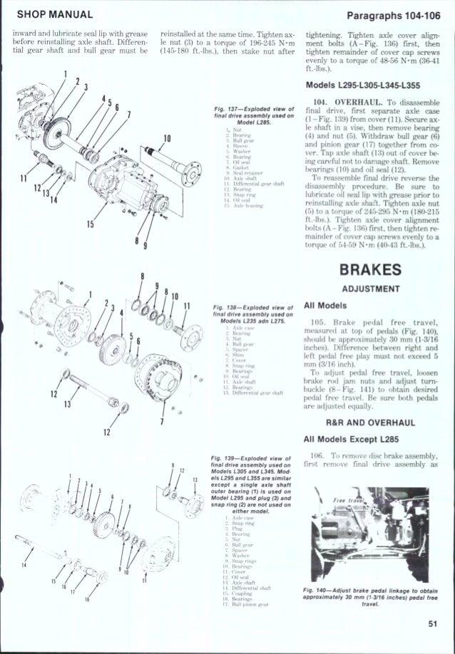 Manuals & Literature Kubota L245 L245DT Dsl 4WD Tractor Parts ...
