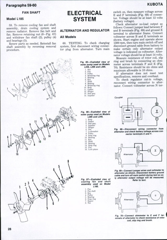 kubota l245 tractor service repair manual Kubota L235