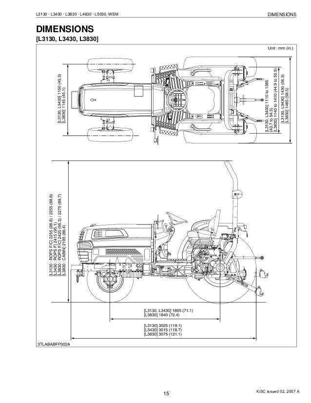 kubota l3830 tractor service repair manual rh slideshare net Kubota L3130 Model Kubota Tractor Starter Wiring Diagrams