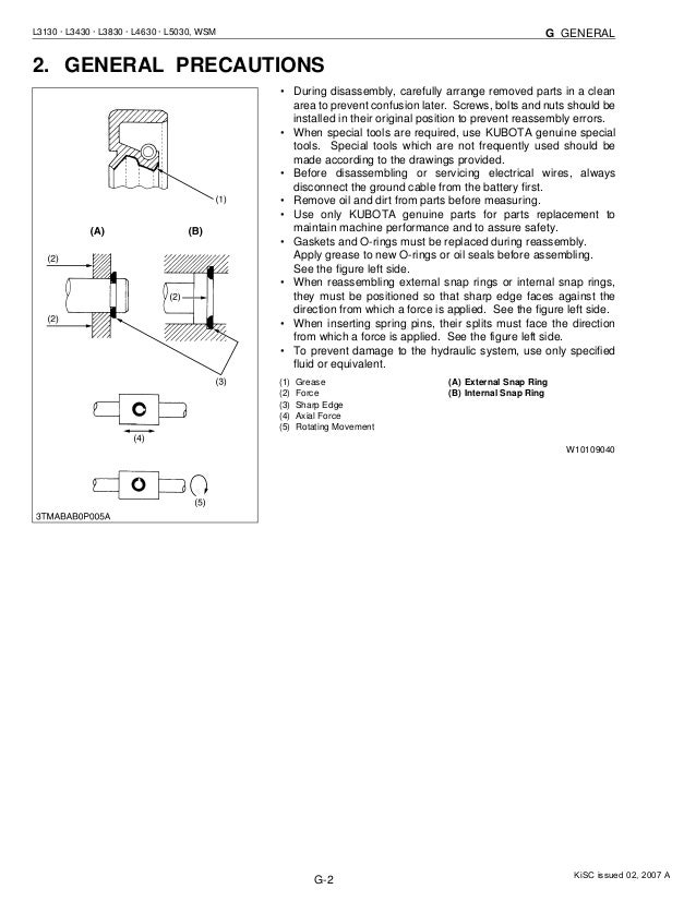 kubota l3830 tractor service repair manual rh slideshare net Kubota Tractor L3830 4 Sale Kubota L3830 Parts Diagram