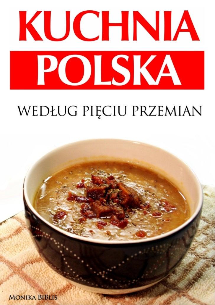 Kuchnia Polska Wedlug Pieciu Przemian