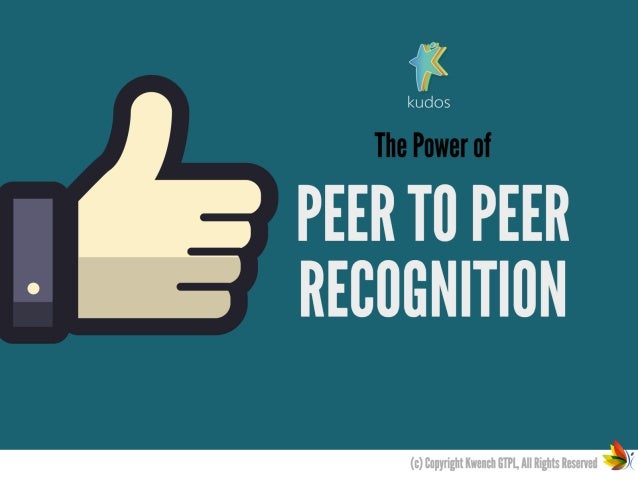 The power of Peer to Peer Recognition in Employee Engagement