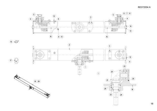 Kuhn axera 1102 m twin disc fertilizer spreader