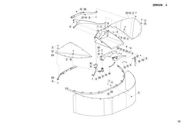 Kuhn drummaster 493 triple drum mowers