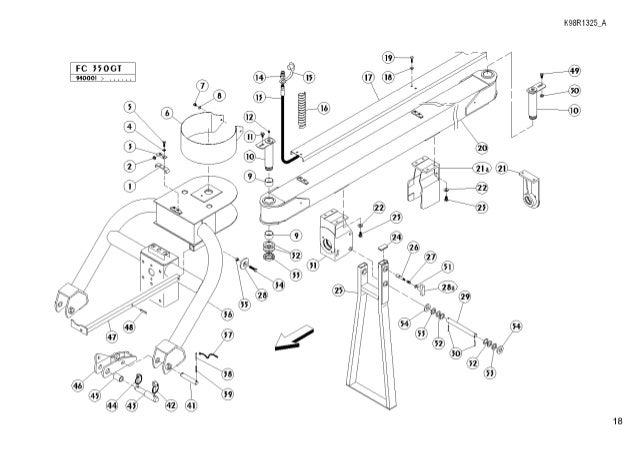 Kuhn fc350 mower conditioner