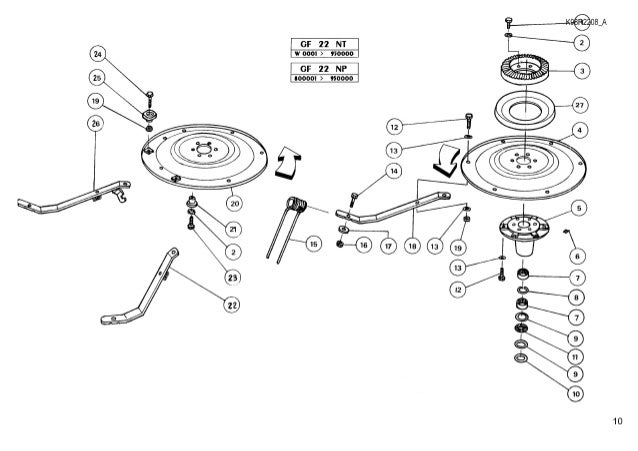 Kuhn Tedder Parts Diagram
