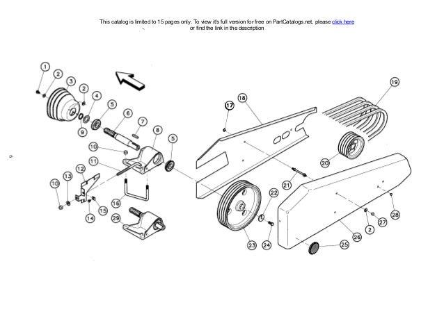 Kuhn Multidisc Mower GMD55 Parts Manual