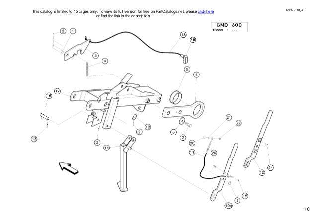 Kuhn GMD600-GMD700 multidisc mower