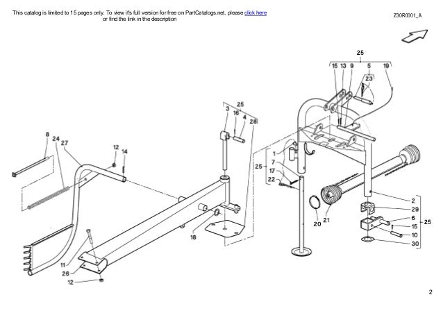 Kuhn Haybob 300 tedder rake combination