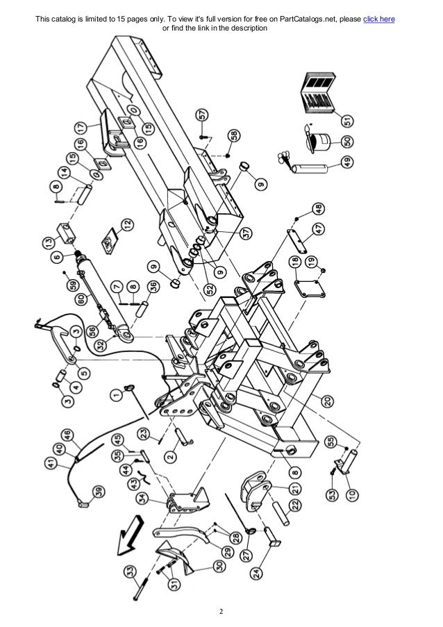 Kuhn power harrow parts manual