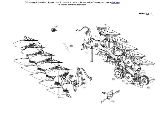 Kuhn Multimaster 153TA Mounted reversible plough Spare
