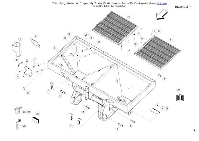 Kuhn Fertilizer spreader MDS1131 Spare parts list
