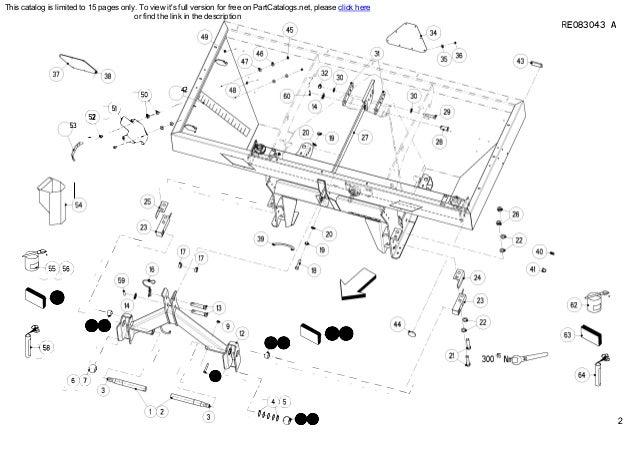 Kuhn Fertilizer spreader MDS 1141 w 1142w Spare parts list