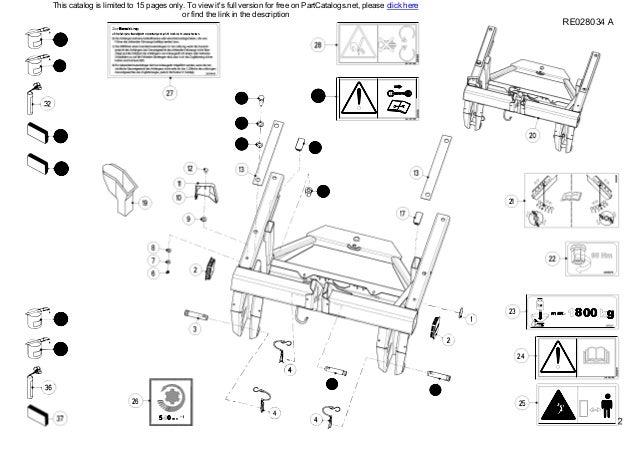 Kuhn Fertilizer Spreader MDS 732 735 932 935 Spare parts list