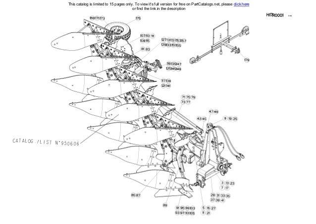 Kuhn Multi-Master 121T Mounted Reversible Plough Spare