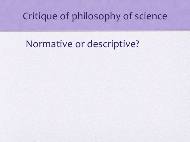 An analysis of two views of science by popper and kuhn