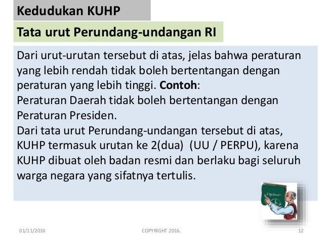 Kuhp Kitab Undang Undang Hukum Pidana Dadang Djoko Karyanto Modul 1