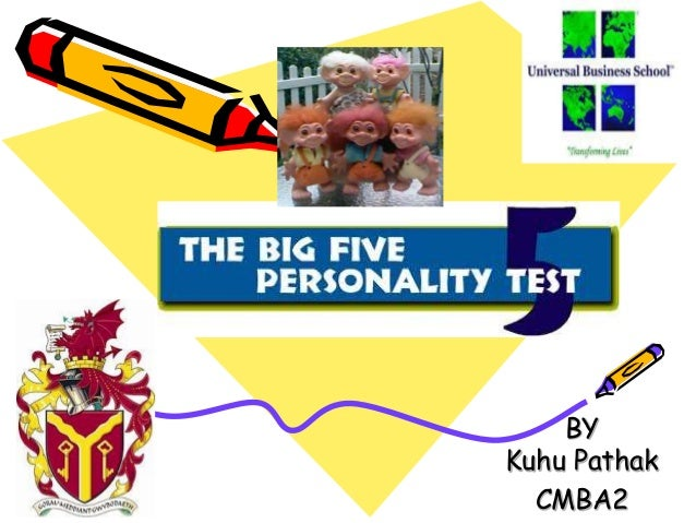big five personality model Five factor model of personality dr simon moss overview of the model the five factor model delineates five broad traits--extraversion, neuroticism, agreeableness.