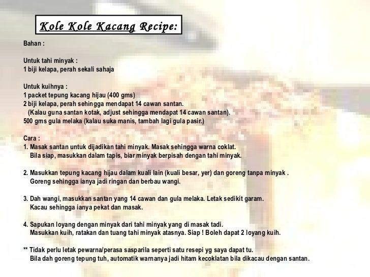 Kuih Tradisional Melayu